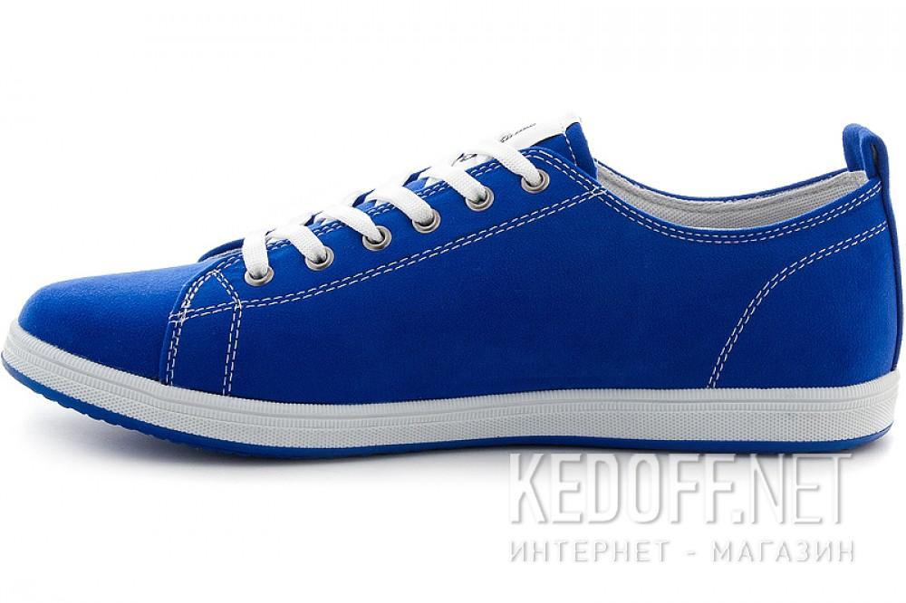 Текстильная обувь Las Espadrillas 15018-42 унисекс   (синий) купить Киев