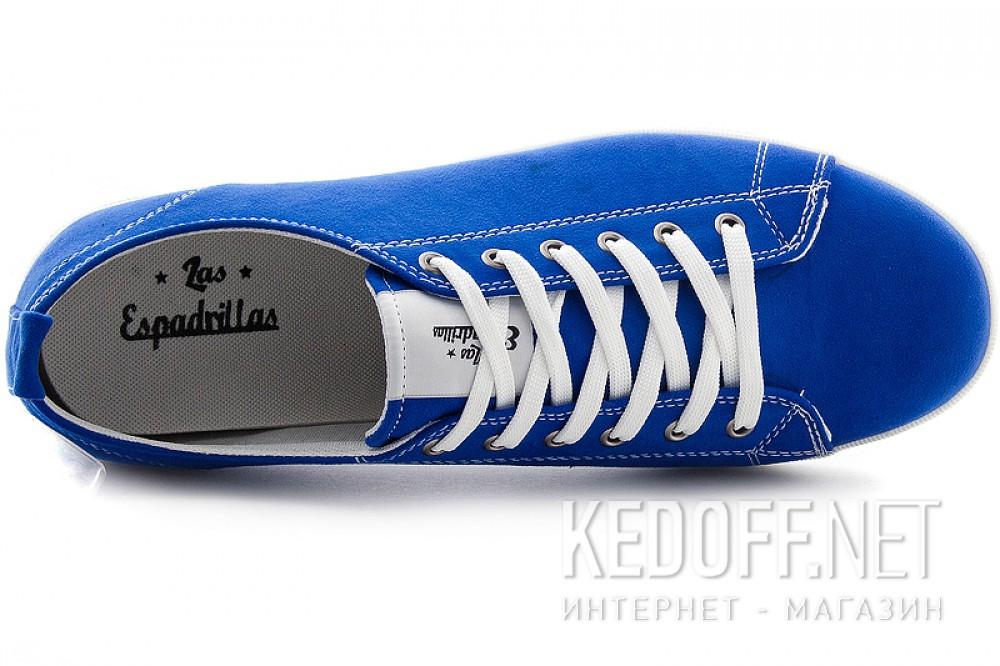 Цены на Текстильная обувь Las Espadrillas 15018-42 унисекс   (синий)