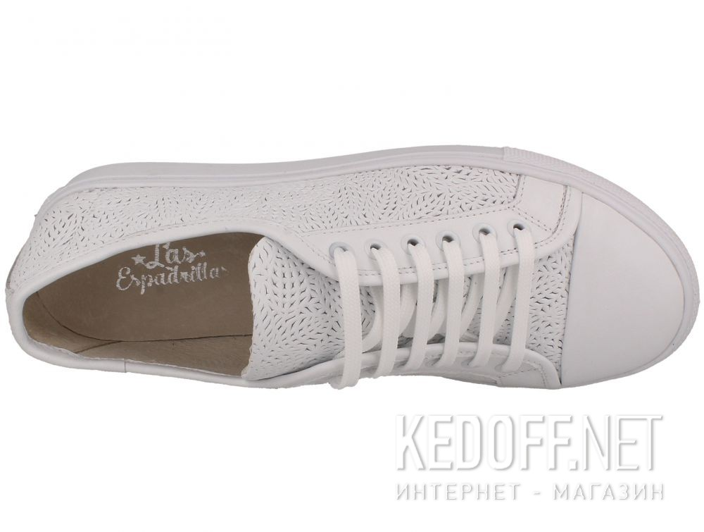 Кеды Las Espadrillas Makrame Leather Low 1542-13 описание