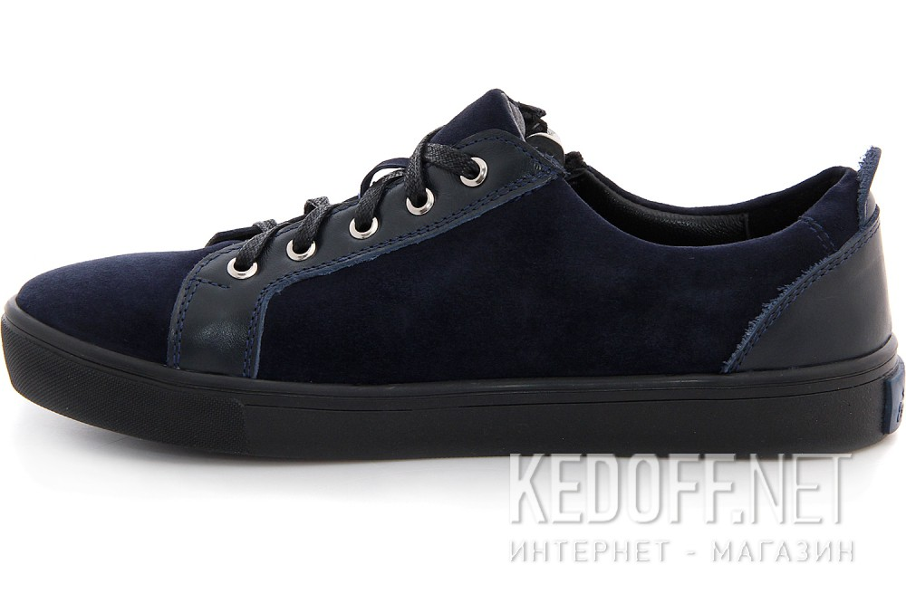 Туфли Las Espadrillas 1648-030236-89 унисекс   (тёмно-синий) купить Украина