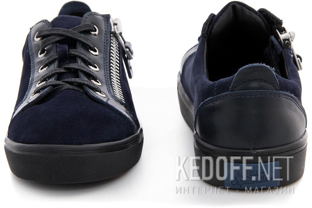 Туфли Las Espadrillas 1648-030236-89 унисекс   (тёмно-синий) купить Киев