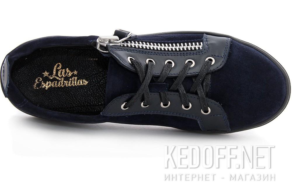 Цены на Туфли Las Espadrillas 1648-030236-89 унисекс   (тёмно-синий)