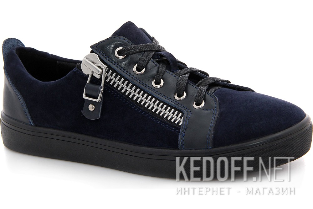 Купить Туфли Las Espadrillas 1648-030236-89 унисекс   (тёмно-синий)