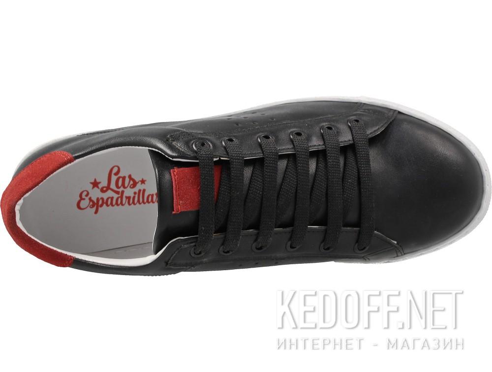 Женские кеды Las Espadrillas 20324-27   (чёрный) купить Киев