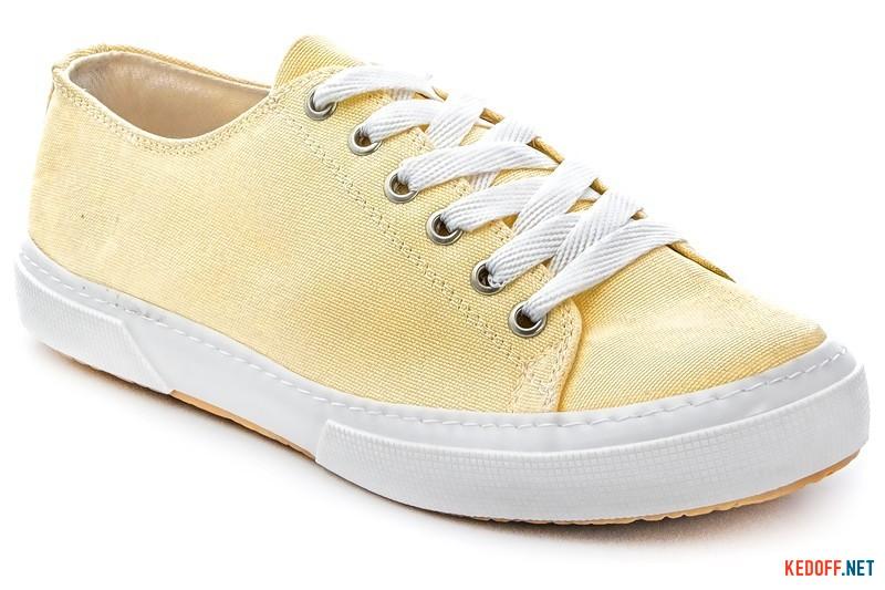 Canvas sneakers Las Espadrillas 4366-21SH Buttercup