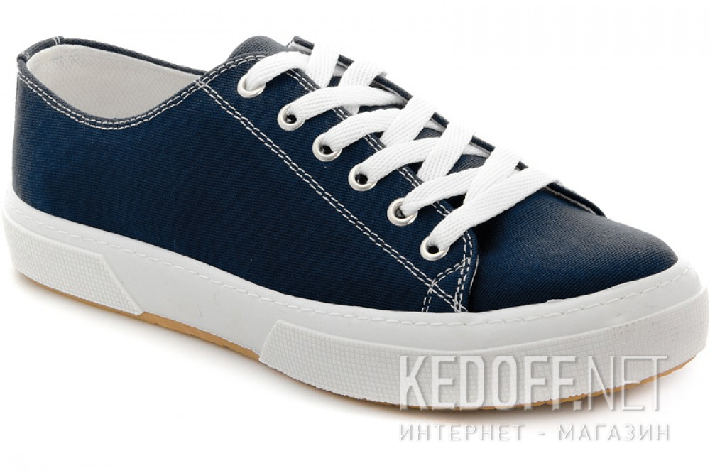 Sneakers Las Espadrillas 4366-89SH Blue Cotton