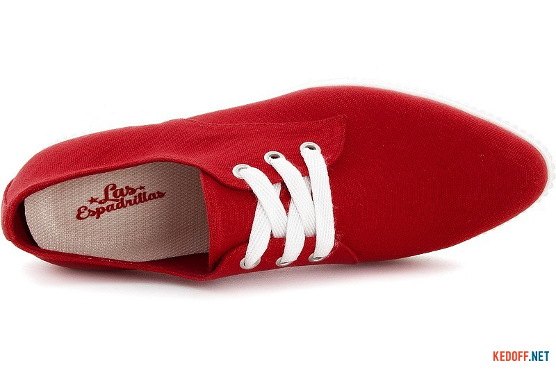 Кеды Las Espadrillas 4574-47 Sh Red Canvas