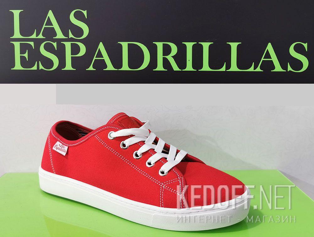 Цены на Кеды Las Espadrillas 5099-47 унисекс   (красный)