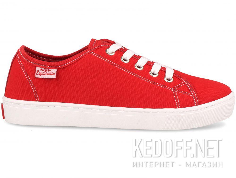Кеды Las Espadrillas 5099-47 унисекс   (красный) купить Украина