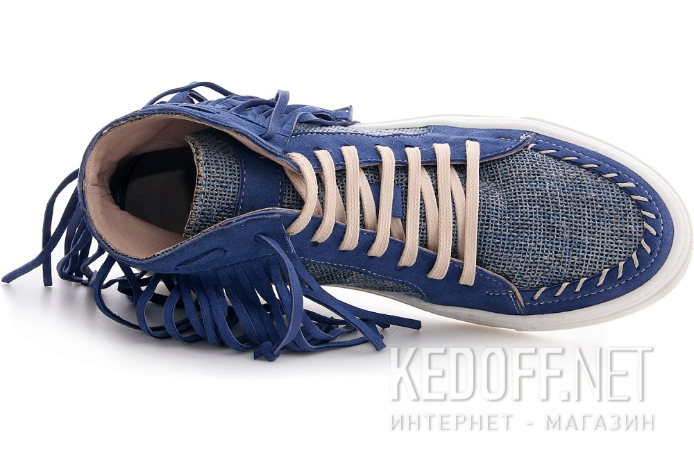 Sneakers Las Espadrillas Blu Hippies Ibiza 657131-40