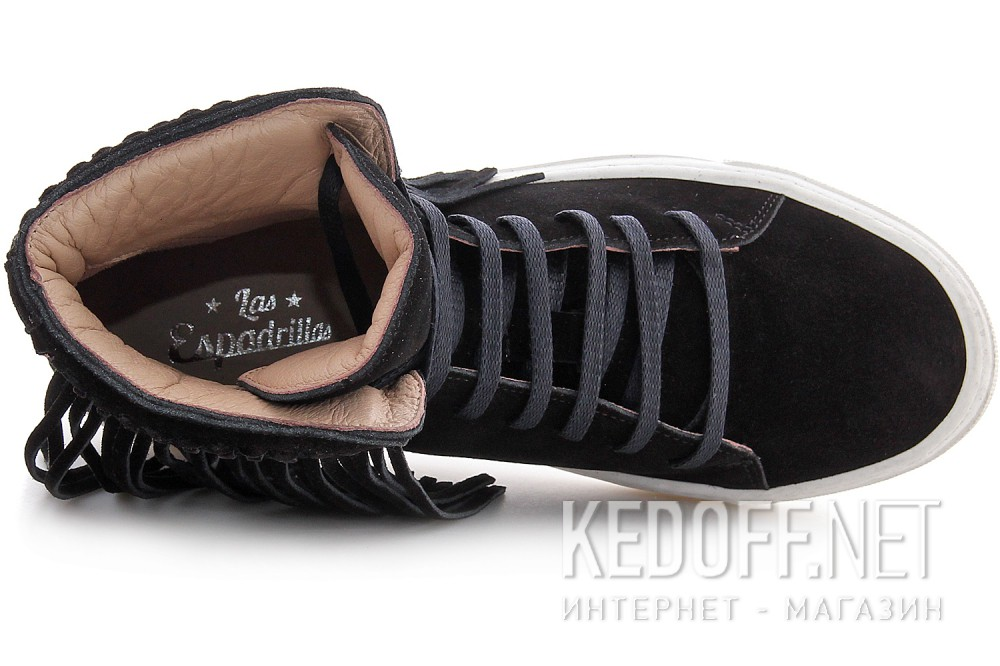 Sneakers Las Espadrillas Black Hippies 657128-901