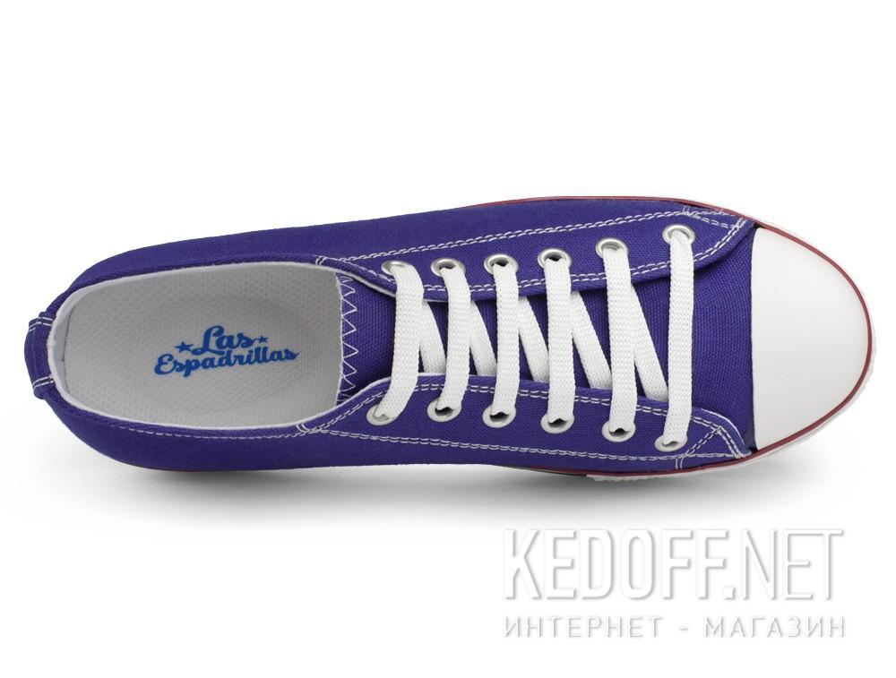 Женская текстильная обувь Las Espadrillas 6408-24   (фиолетовый) купить Киев