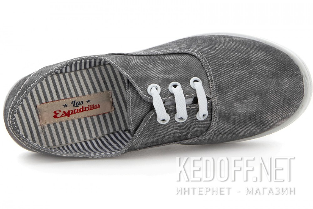 Напівкеди Las Espadrillas Authentic Canvas 20211-71440