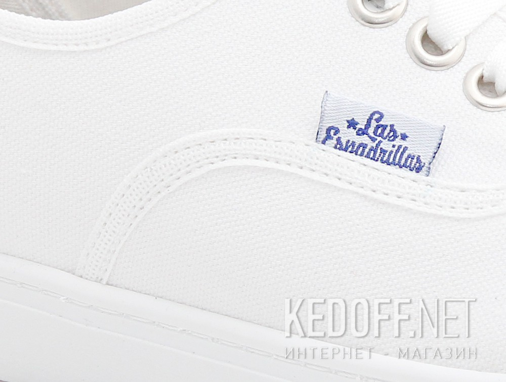 Кеди Las Espadrillas Authentic White 8214-7652 Motion Foam