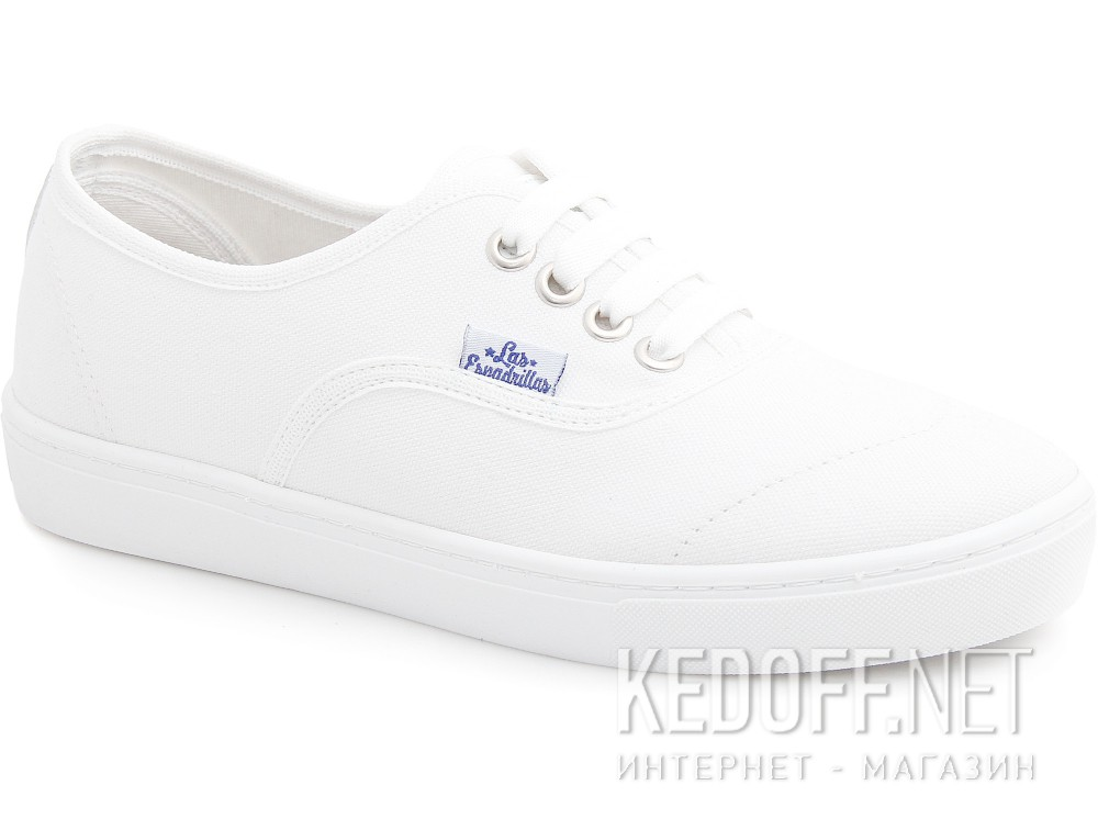 Sneakers Las Espadrillas Authentic White 8214-7652 Motion Foam