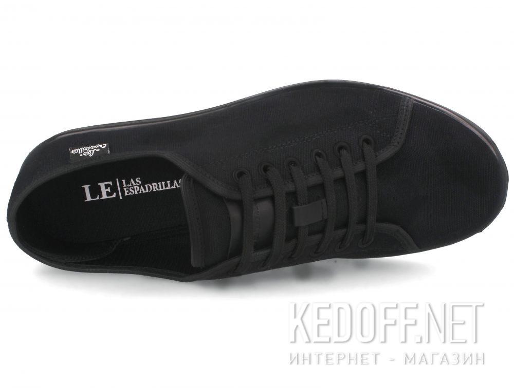 Оригинальные Кеды Las Espadrillas Black Slim  6099-27