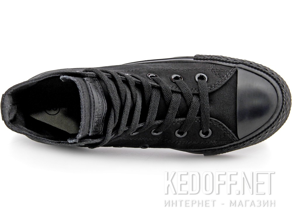 Кеды Las Espadrillas Black Classic High LE38-3310