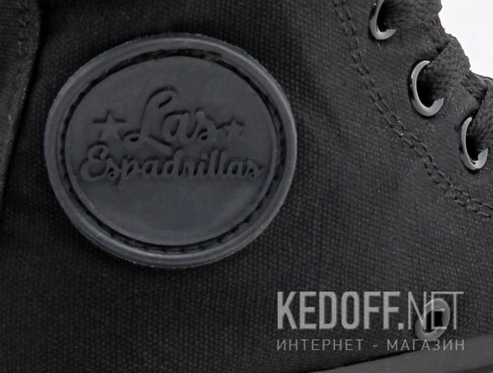Кеди Las Espadrillas Classic Black High LE 38-3310