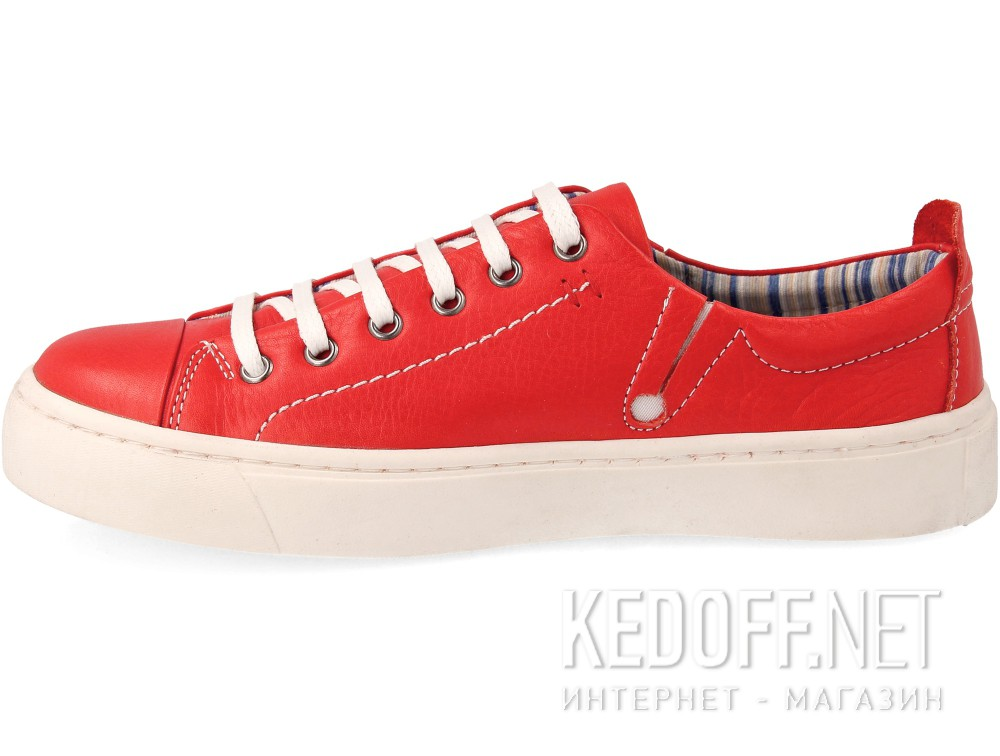 Кеды Las Espadrillas Red Leather Low 152-47