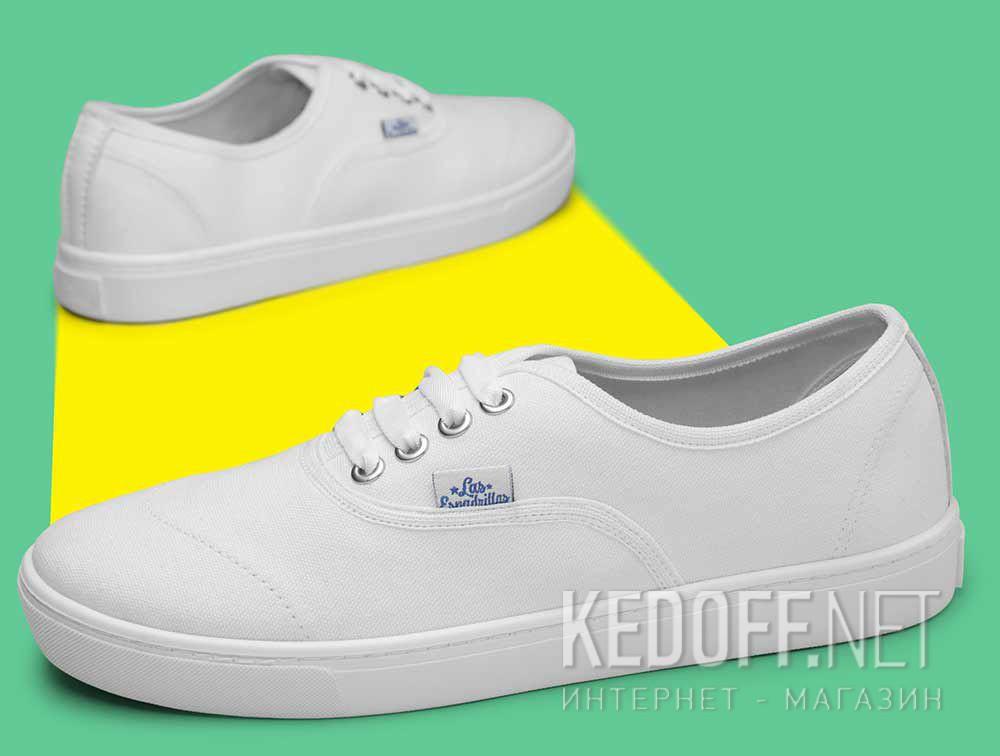 Кеды Las Espadrillas V8214-7652TL Optical White (белый) доставка по Украине