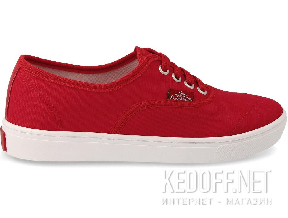 Оригинальные Кеды Las Espadrillas V8214-9696TL Red унисекс   (красный)