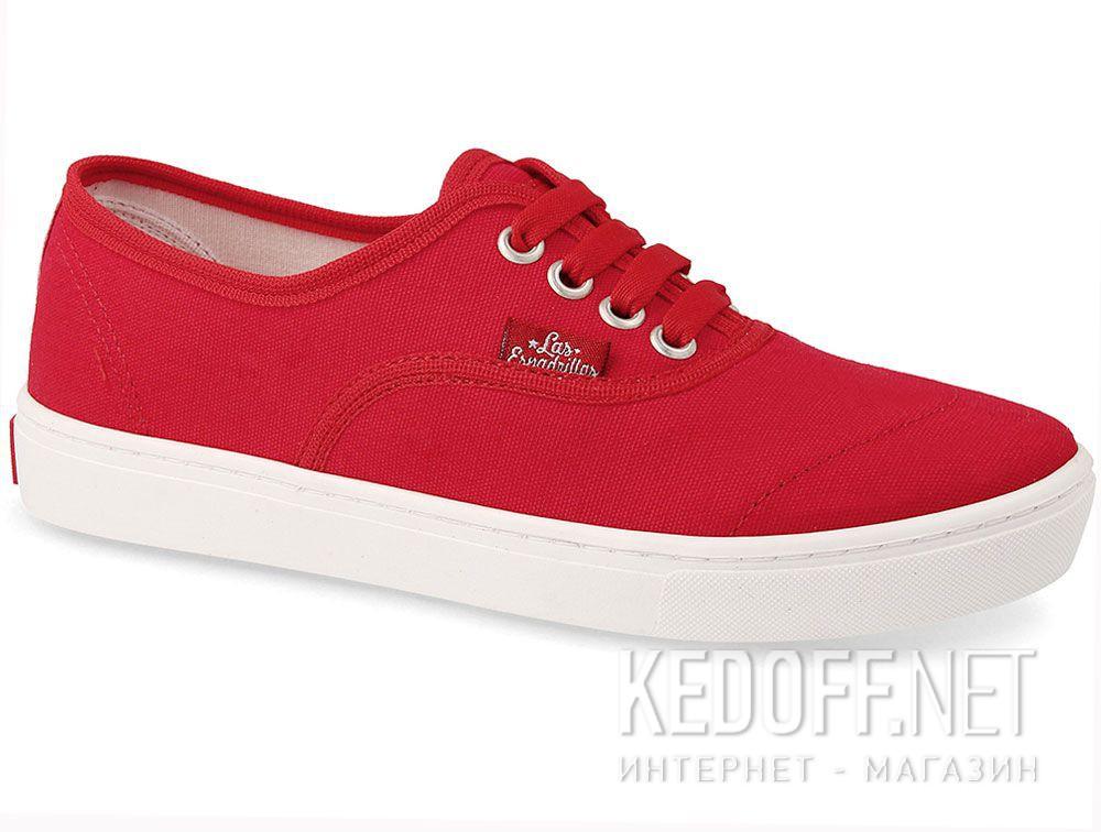 Купить Кеды Las Espadrillas V8214-9696TL Red унисекс   (красный)