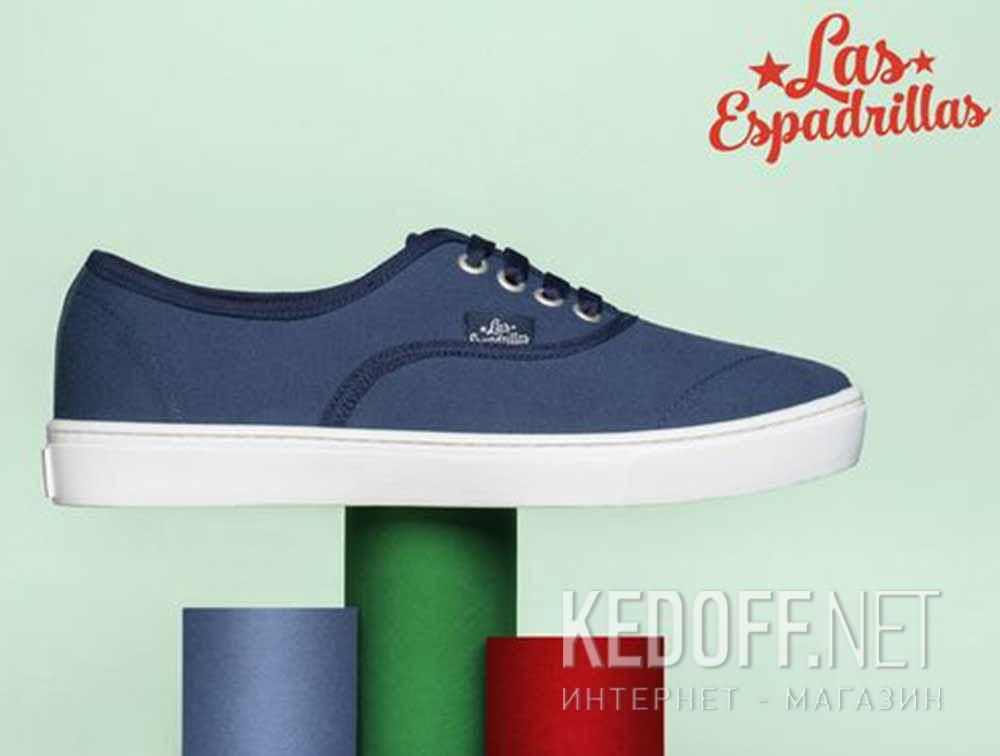 Доставка Кеды Las Espadrillas V8214-9697TL унисекс   (синий)