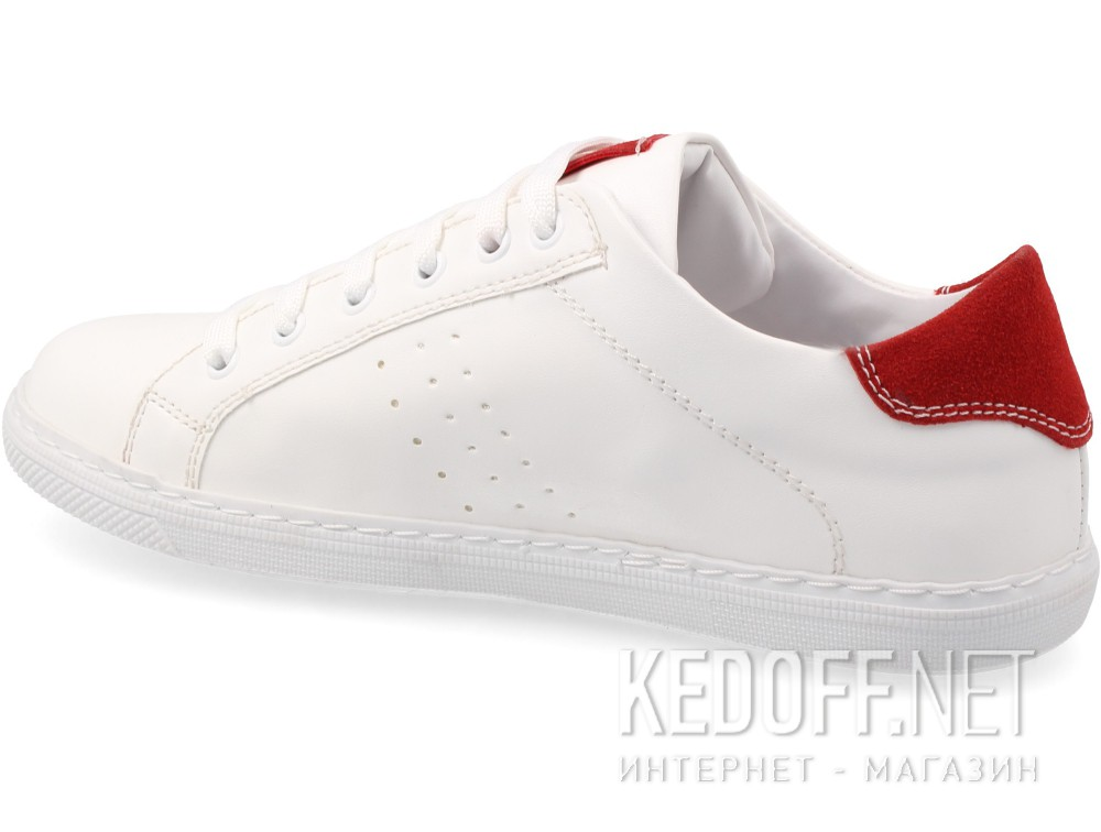 Las Espadrillas White Red Smith 20324-1347