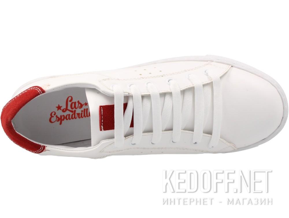 Женские кеды Las Espadrillas 20324-1347   (белый) купить Киев