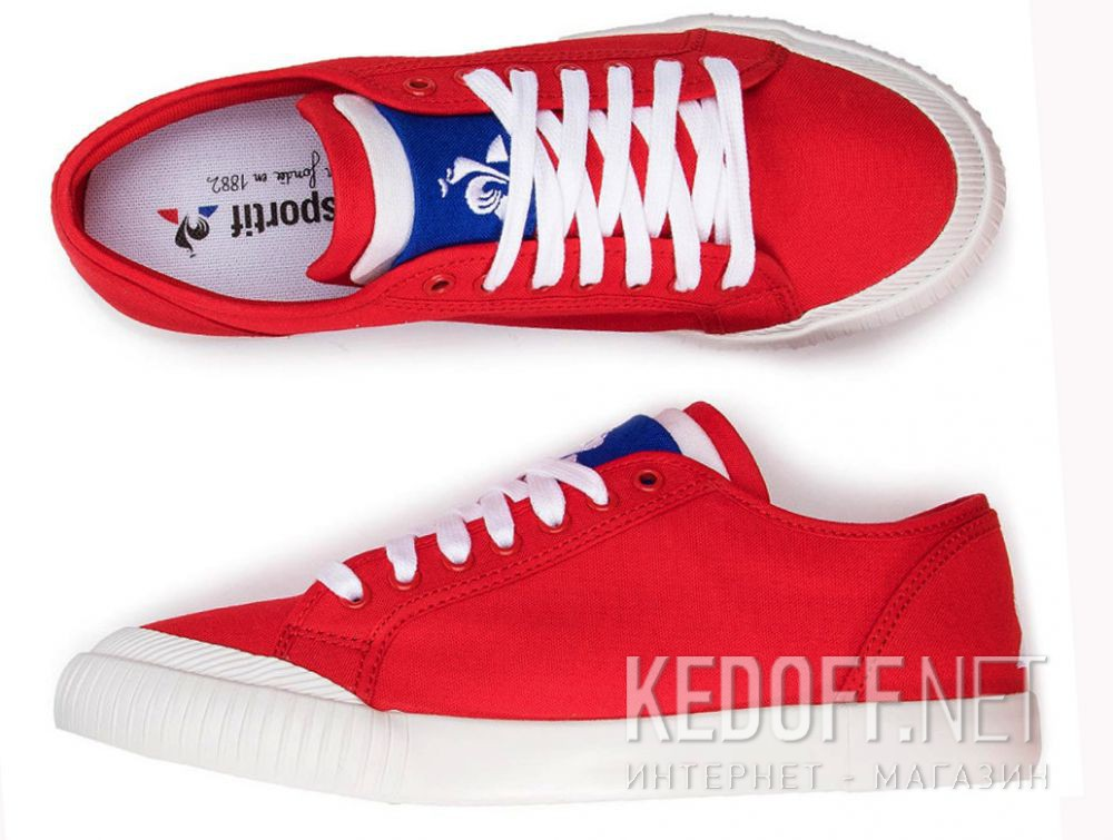 Кеды Le Coq Sportif Nationale 1910021-LCS описание