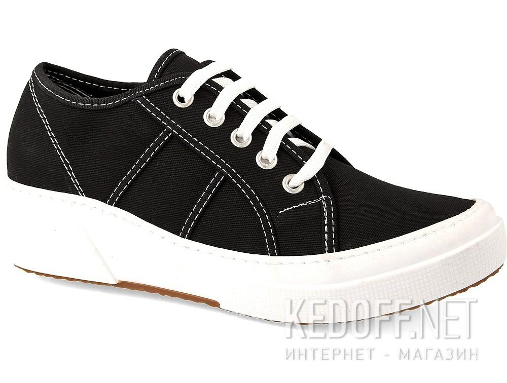 Sneakers wedge Las Espadrillas Super Ga 5366-27 Heel Black Canvas