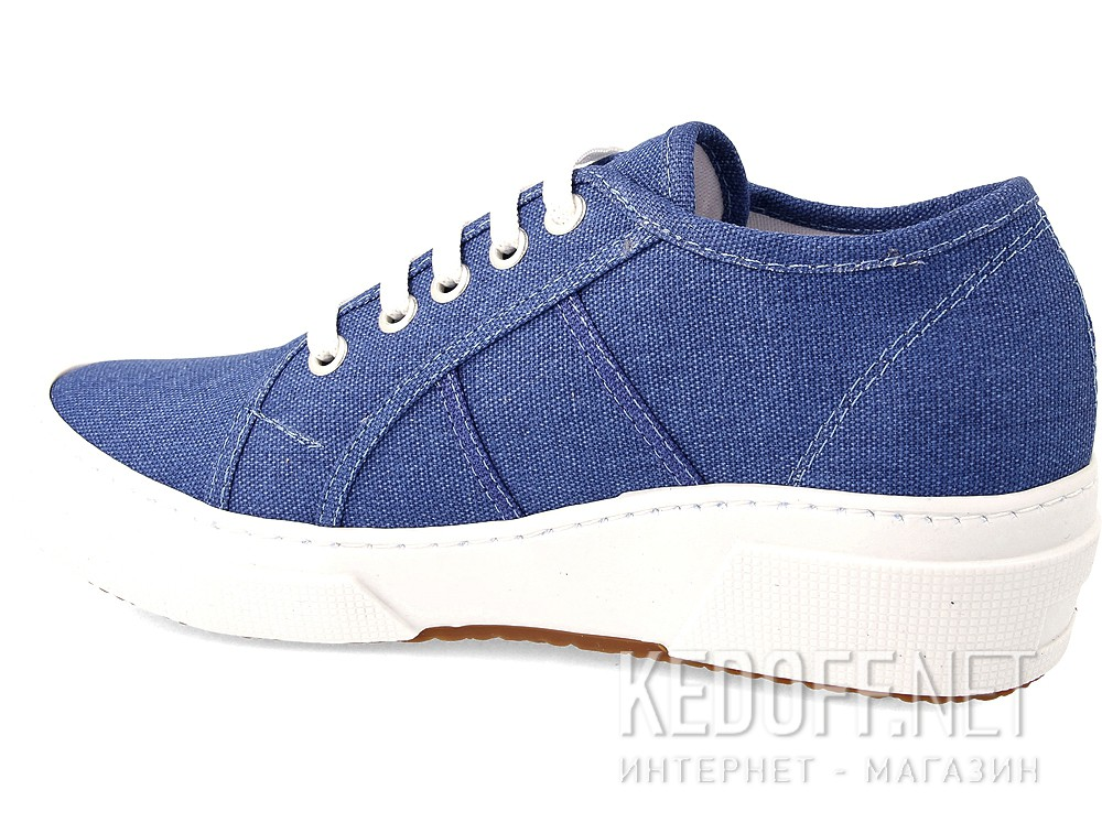 Fashion sneakers Las Espadrillas Blu 5366-42 Heel SuperGa Canvas