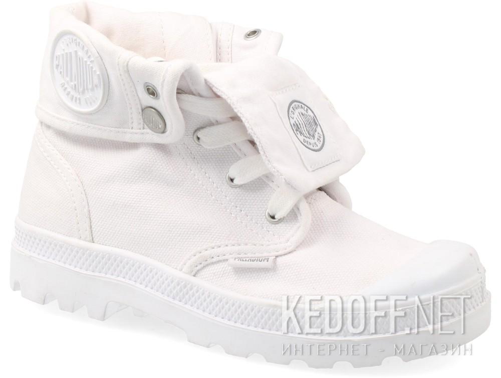 Купить Детская текстильная обувь Palladium 53459-169   (белый)
