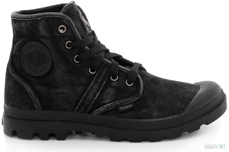 The Palladium Pallabrouse 02477-069 Sneakers Black Monochrome