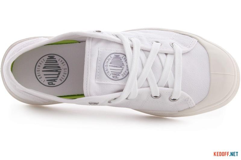 Sneakers Palladium Pallarue 93698-199 White Canvas