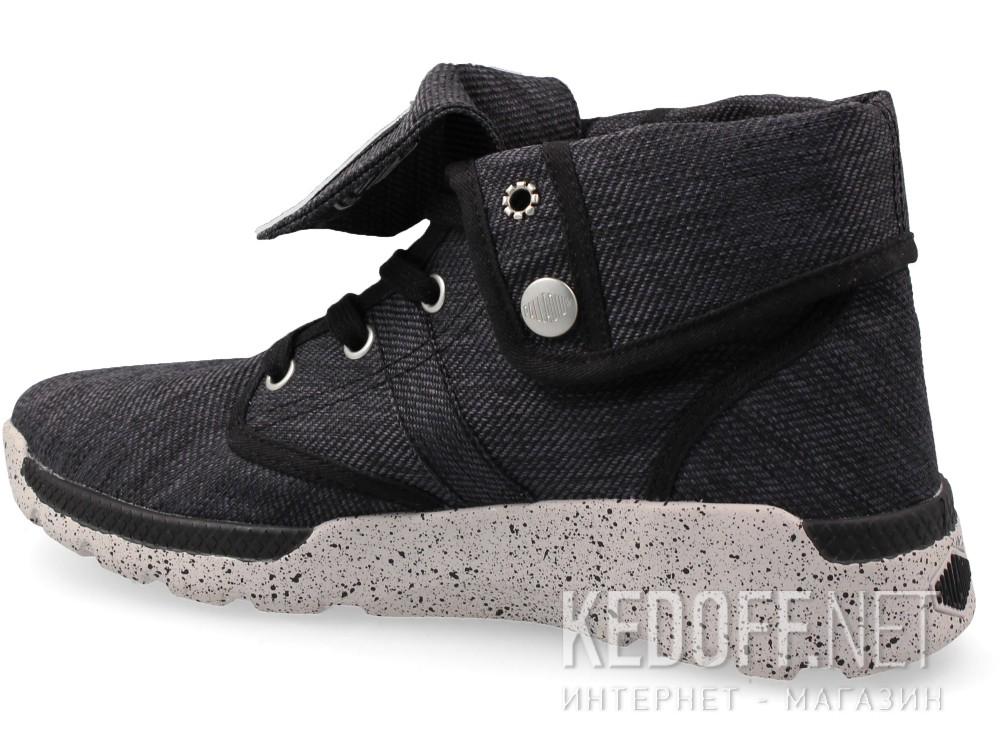 Женская текстильная обувь Palladium 93708-074   (чёрный) купить Украина