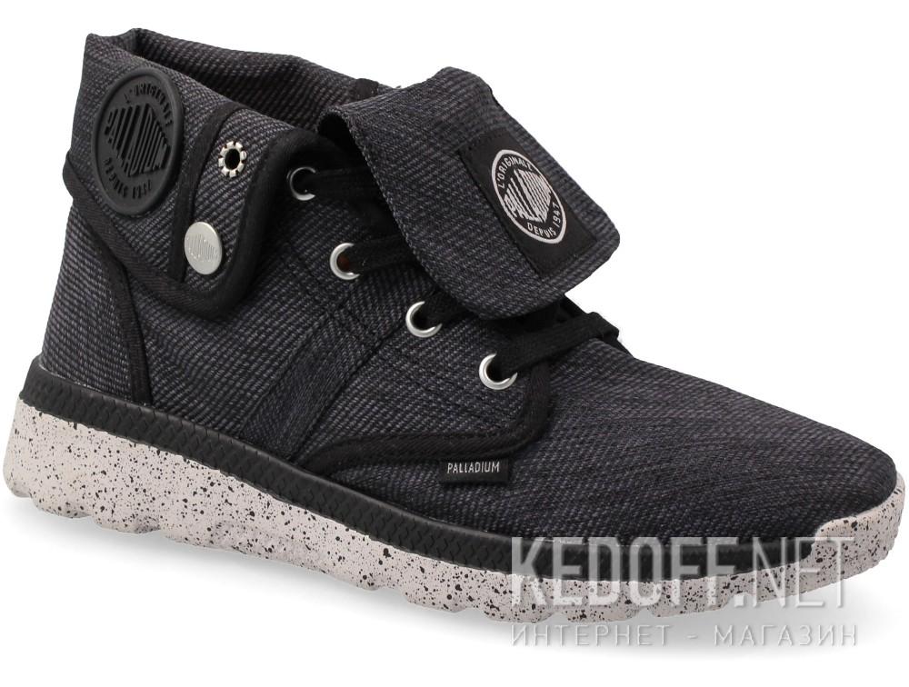 Купить Женская текстильная обувь Palladium 93708-074   (чёрный)
