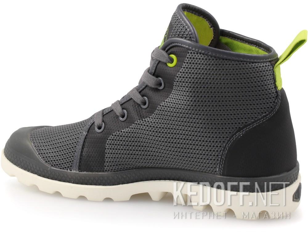 Женская текстильная обувь Palladium 73843-184   (серый)