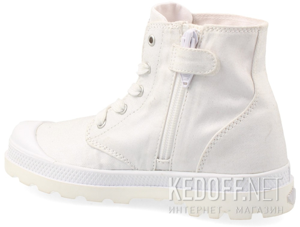 Детские кеды  Palladium 53715-199 (белый) купить Украина