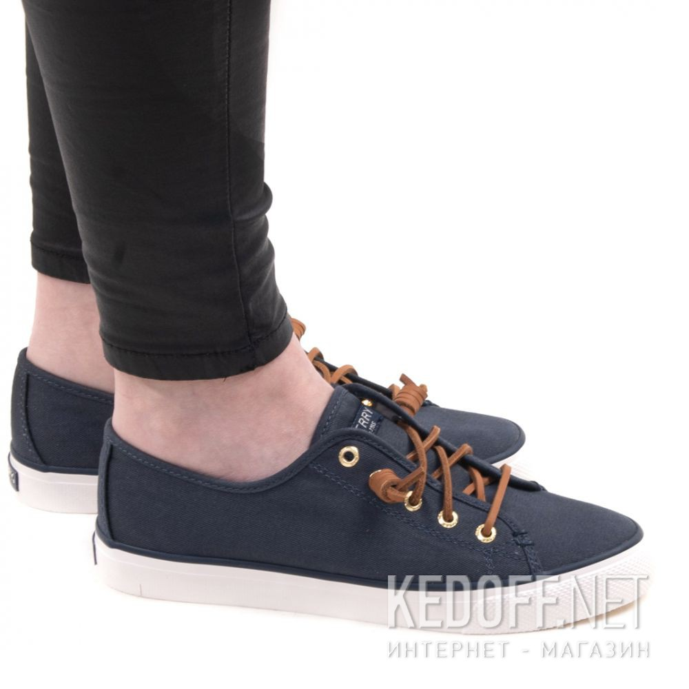 Доставка Кеды Sperry Top-Sider SEACOAST CANVAS SP-90550 унисекс (синий)