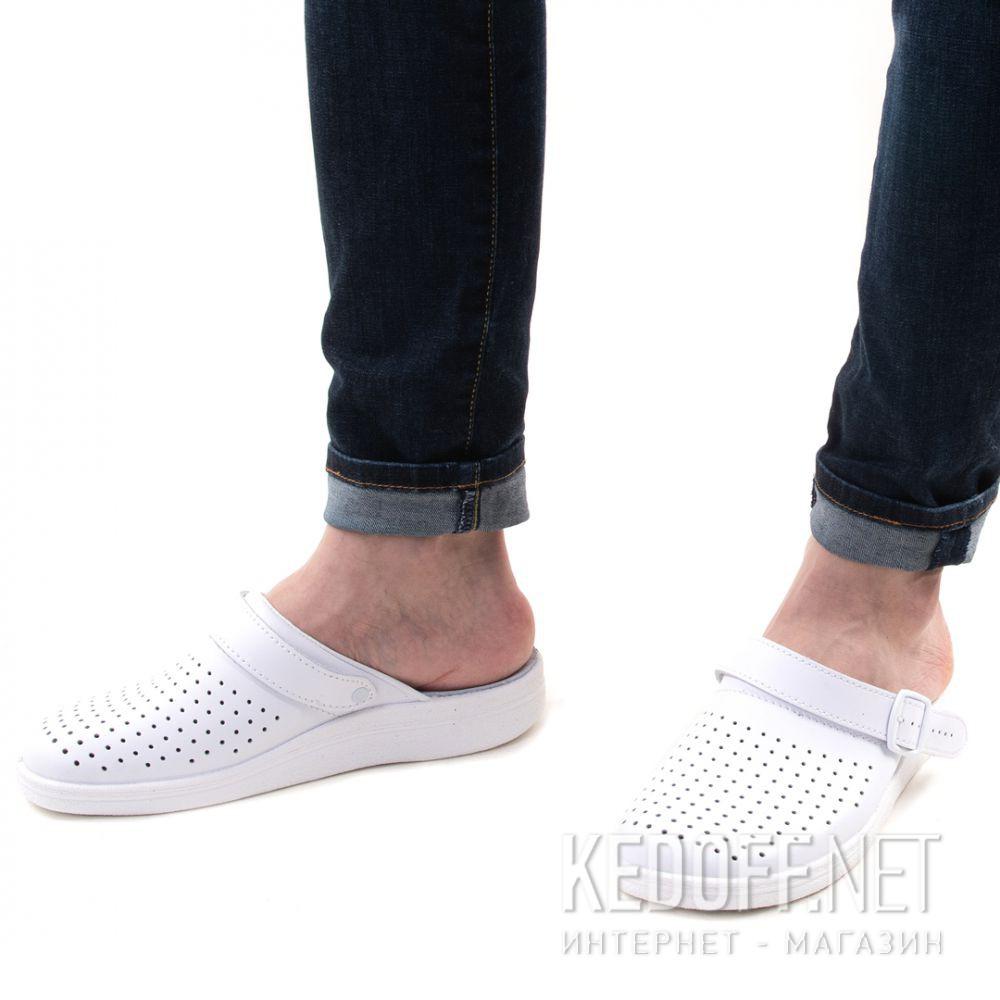 Кожаная докторская обувь Forester Sanitar 0404-13 White описание
