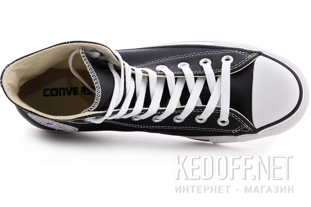 Leather sneakers Converse I ROBOT 132170 Black leather