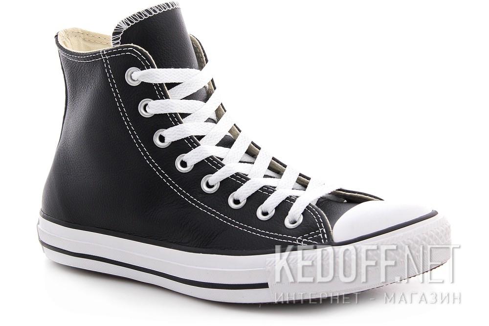Кожанные кеды Converse I ROBOT 132170 Black leather