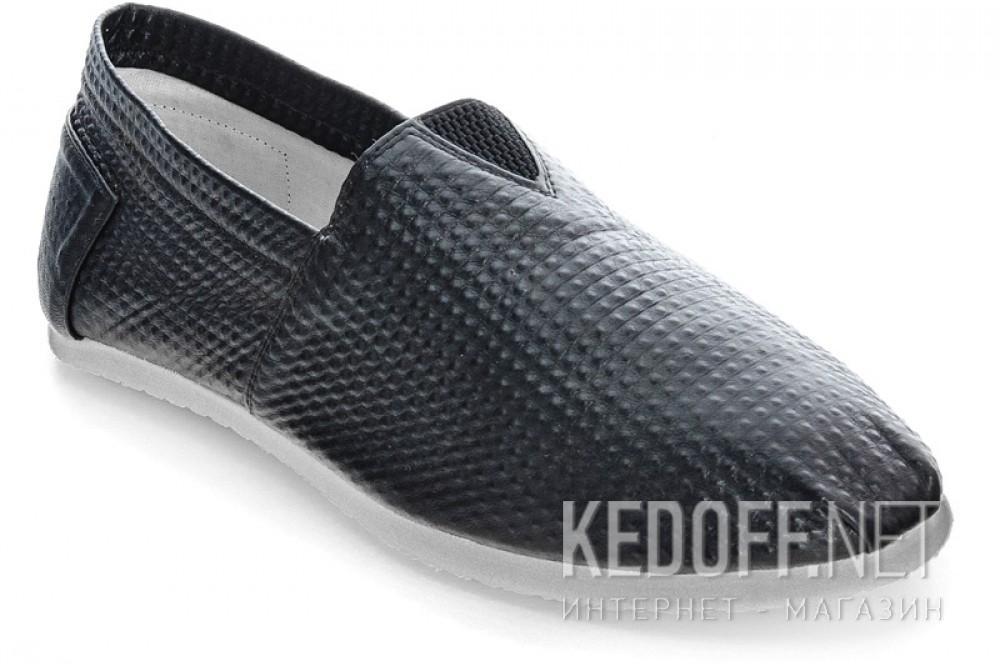 Купить Мужские слипоны Las Espadrillas 2020-5   (чёрный)