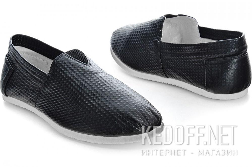 Мужские слипоны Las Espadrillas 2020-5   (чёрный) купить Украина