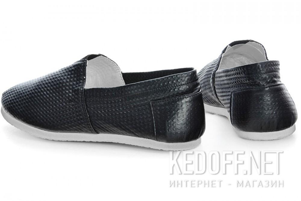 Мужские слипоны Las Espadrillas 2020-5   (чёрный) купить Киев