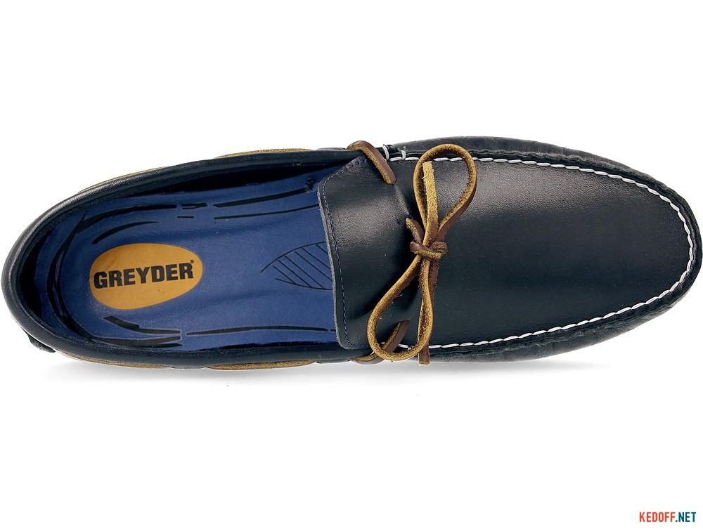 Кожаные мокасины Greyder 60311-89