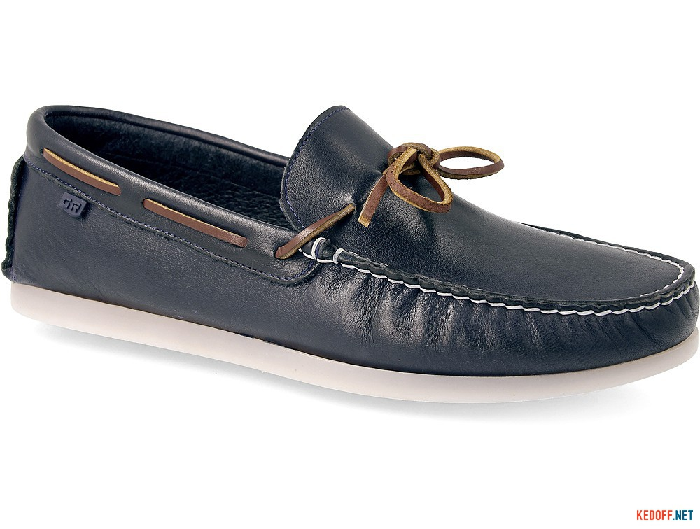 Leather moccasins Greyder 60311-89