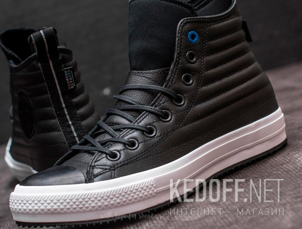 Кожаные кеды Converse Chuck Taylor All Star Waterproof Boot Quilted Leather 157492C  Фото 14
