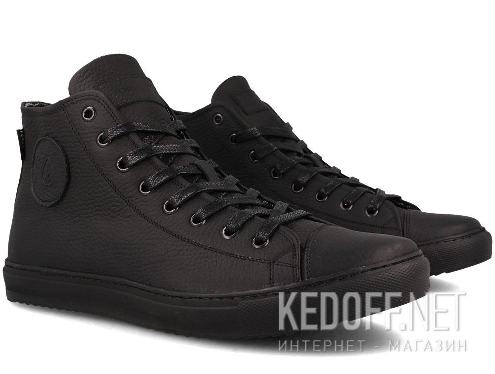 01f96761ec558 Кожаные кеды Forester Monochrome 132125-272 MB унисекс (чёрный) купить  Украина